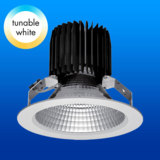 Stufenlos variabler Tunable White LED Strahler von ChiliconValley