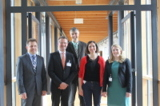 Prof. Dr. H. Kempter, P. Wüstner, M. Reti, A. Späth, M. Lücke (v.l.n.r., fehlt: Dr. M. Heil)