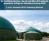 Betriebsicherheitsseminar nach TRGS 529 in Rotenburg (Wümme)