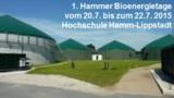 Biogasmotoren- und Sicherheitstechnik-Seminar am 22.7.2015 in Hamm