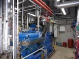 Biogas-BHKW in Raumaufstellung