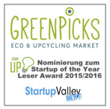 © Greenpicks/Startup Valley News: Nominierung zum Startup of the Year