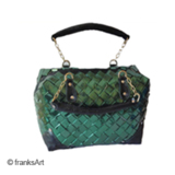 Handtasche aus recycelter Folie