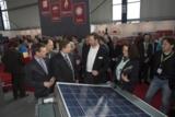 New Energy Husum 2013: Peter Becker, Stephan Schwartzkopff, Ralph Müller-Beck am Stand von S.A.T.