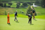 Golfturnier und Schnupperkurs fanden bei Kunden, Gästen und Clubmitgliedern großen Anklang.