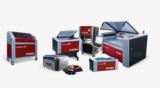 Aktuelle Produktreihe von Trotec Lasersystemen