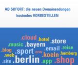 neue Domainendungen jetzt bei Alfahosting verfügbar