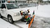 Die AM Albertus Magnus GmbH beim Winterdienst im Einsatz