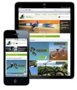 e-vendo Onlineshop im Responsive Webdesign