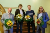 v.l.n.r.: Heinz-Jürgen Kronberg, Dr. Martin Schaffer, Dominik Burre, Mario Neugärtner Foto:Candy W.