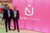 Friedhelm Scharhag (CEO Mobizcorp, links) und Stephan Schambach (CEO NewStore)