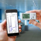 HOBO MX1101 und iPhone mit HOBOmobile App