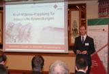 GWE-Geschäftsführer Groneberg informiert über die Kraft-Wärme-Kopplung für industrielle Anwendungen