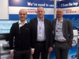 Claus Huber, Gerhard Schenk und Georg Kostner