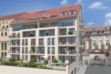Baubeginn in der Lessingstraße: Das OPERNPALAIS®. Quelle: MKK Wohnpark GmbH.