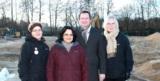 Foto v.l.n.r.: Christiane Zakrzewski, Girija Harland, Dr. Henner Buhck, Brigitte Knees
