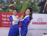 Besucher des DEGUMA Messestandes erhielten frisch gebackene Brezeln.