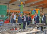 Führung durch die Produktionshallen der FLAMMSYSCOMP GmbH & Co. KG
