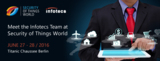 Infotecs präsentiert sichere IoT Kommunikation bei der Security of Things World in Berlin