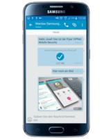 ViPNet Mobile Security ermöglicht den verschlüsselten Austausch von Dateien über Mobilgeräte.