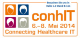 Besuchen Sie Infotecs in Halle 1.2, Stand B-111 bei der conhIT - Connecting Healthcare IT in Berlin.