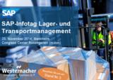 Westernacher auf der SAP-Infotag Lager- & Transportmanagement