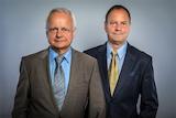 Knuth Browatzki und Dr. Siegfried Kade, Geschäftsführer der Dr. Kade Stiftungsberatung KG