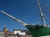 """Der Traditionssegler """"Rickmer Rickmers"""" stand als maritimer Veranstaltungsort zur Verfügung."""