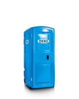 Für alle Plätze auf der Welt, wo es auf die Größe ankommt: die neue DIXI Mini Toilettenkabine.