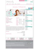 Beispielseite eines bei beautyloop registrierten Anbieters