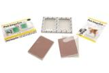 Starterkit: Doppelbilderrahmen, 2 Schaumplatten CopyMeister, Schutzdeckel und Gebrauchsanweisung