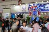 Transformers am Jebsen Industrial Stand der BIRTV Messe 2014 in Beijing