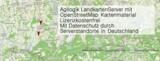 Beispielseite einer voll-zoombaren Web-Landkarte mit dynamischer Informationsdarstellung
