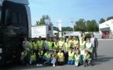Logistik zum Anfassen für über 20 Schülerinnen und Schüler. Quelle: Obermann Unternehmensgruppe
