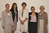 (v.l.n.r.): Susanne Knorr, Claudia Buchmüller, Lucia Motte, Silke Kirschenmann, Isolde Fischer