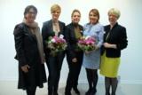(v.l.n.r.) Dr. Elisabeth Kuhn, Daniela Kaiser, Silke Kirschenmann, Dagmar Schill, Isolde Fischer