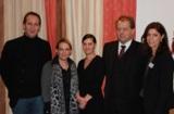 (v.l.n.r.): Stefan Barth, Silke Kirschenmann, Marika Barth, Dr. Jörg Sauer, Claudia Buchmüller