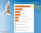 Kalender-Uhrzeit.de hat den beliebtesten Pfingstbrauch in Deutschland ermittelt