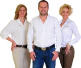 v.l.n.r.: Qualitätsmanagerin Karin Musch, GF Mario Weingartler, Akademieleiterin Sonja Kainberger