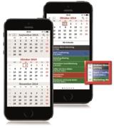 Die neue App terminic 3-Monatskalender