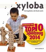 Nominierung für TOP10 Spielzeug 2014 Xyloba - Die Kugelbahn, die Musik macht!