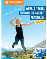 Cover des neuen Praktikawelten Katalogs 2015