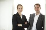 Exxecta Gründer Nicole Bernthaler und Christoph Bücheler  -  In das Jahr 2015 mit großer Zuversicht