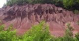 Die Roten Berge bei Montieri
