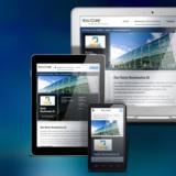 YooCorp-Firmenprofil dargestellt in verschiedenen Endgeräten
