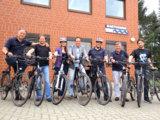 BARTHAUER Mitarbeiter freuen sich über ihre hochwertigen Fahrräder im Rahmen des Dienstradprogramms