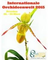 Orchideenkönigin hält Hof auf der Internationalen Orchideenwelt 2015 in Dresden