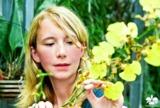 Marei Karge-Liphard, Inhaberin des Orchideengartens Karge in Dahlenburg