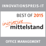 Ausgezeichnet in der Kategorie Office Management