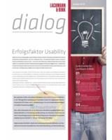"""Usability: Ausg. 42 des """"dialog"""" informiert über die Entwicklung gebrauchstauglicher Software."""